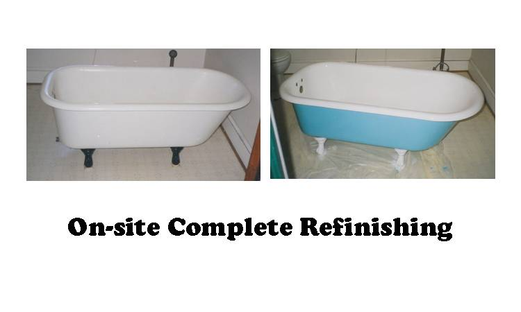 Refinishing The Outside Of Your Tub Will Remove All The Layers Of Lead  Paint That Have Accumulated Over The Years.